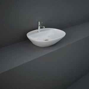 RAK Variant Oval Counter Basin 50cm 1 Tap Hole