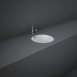 RAK Variant Round Under Counter Wash Basin 36cm Alpine White