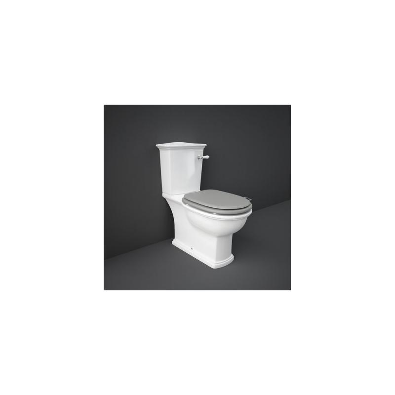 RAK Washington WC Pack with Lever Handle & Matt Grey Seat