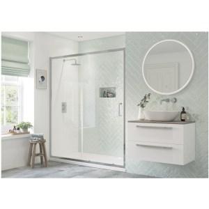 RefleXion Flex Framed 1000mm Sliding Shower Door