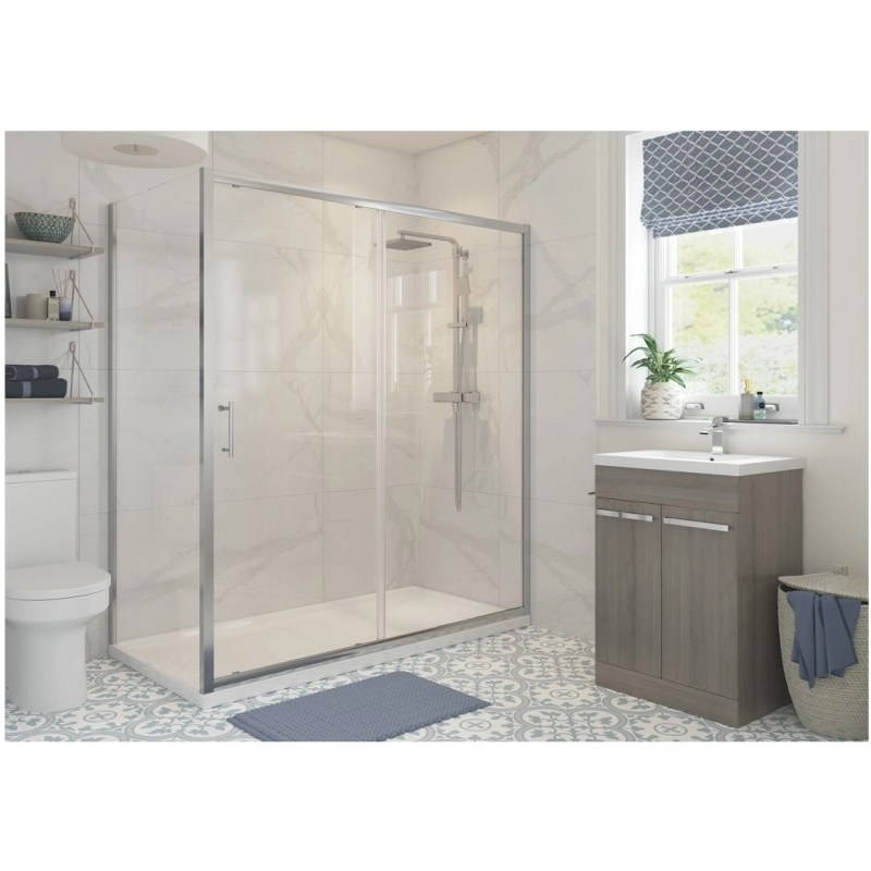 RefleXion Classix Framed 1400mm Sliding Shower Door