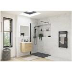 RefleXion 1200x900mm Slate Effect Ultra-Slim Shower Tray & Waste