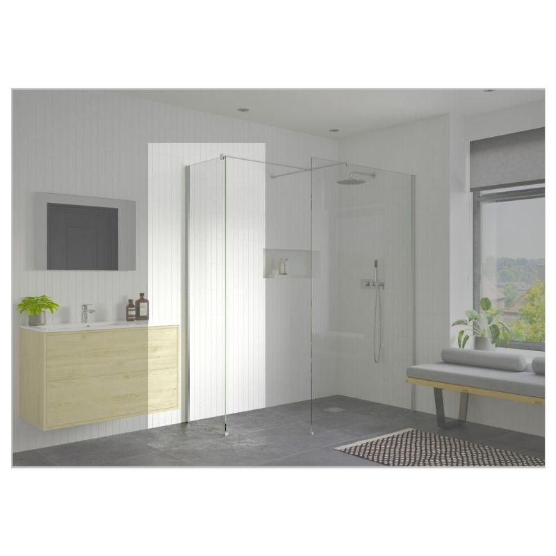 Reflexion Iconix Optional Wetroom Side Panel 700mm