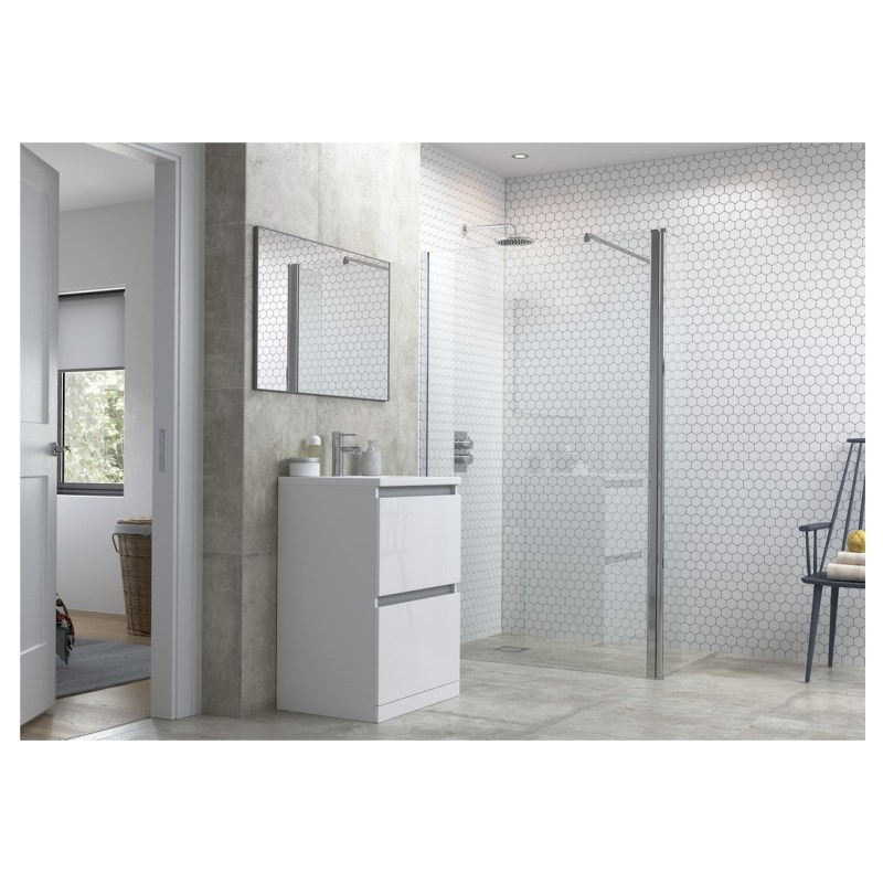 Reflexion Flex 800mm Wetroom Panel & 300mm Rotatable Panel