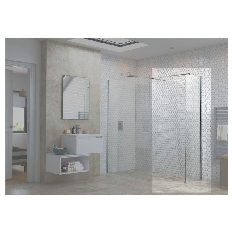 Reflexion Flex Optional Wetroom Side Panel 800mm