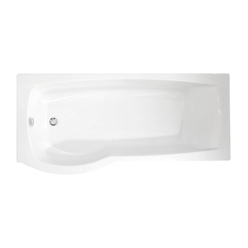 Roca Giralda Shower Bath for Left Corner 1700x800/700mm White