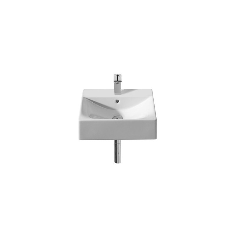 Roca Diverta On Countertop/Wall-Hung Basin 470 x 440mm 1 Taphole