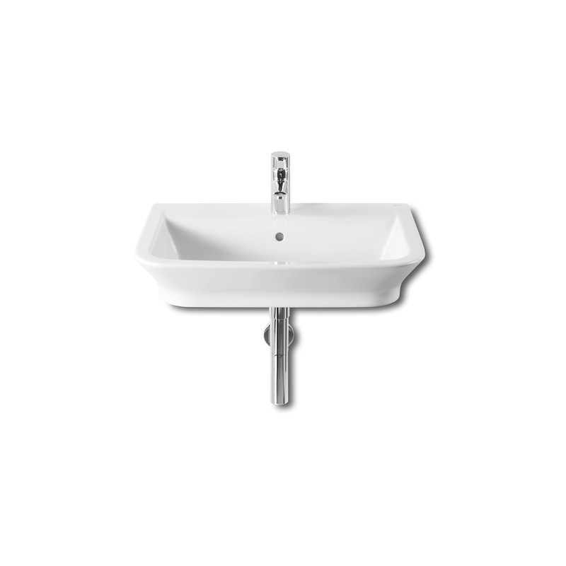 Roca The Gap Wall-Hung/On Countertop Basin 650 x 475mm 1 Taphole