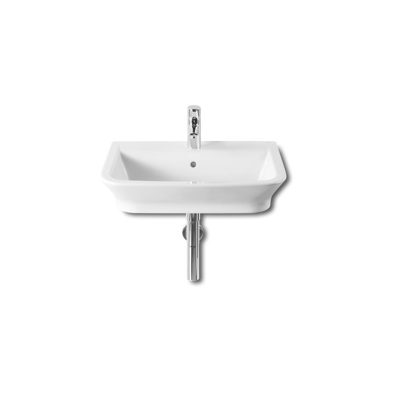 Roca The Gap Wall-Hung/On Countertop Basin 600 x 470mm 1 Taphole