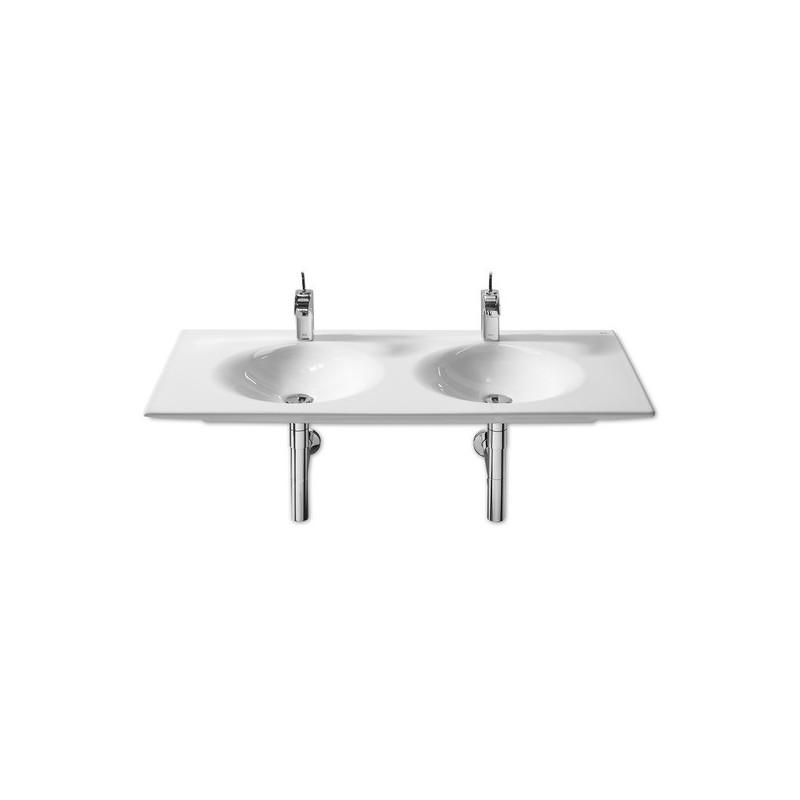 Roca Kalahari Vanity/Wall-Hung Double Basin 1200 x 510mm White