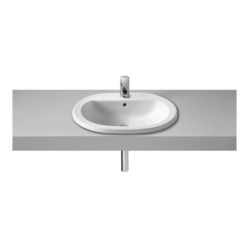 Roca Coral-N In Countertop Basin 560 x 480mm 1 Taphole