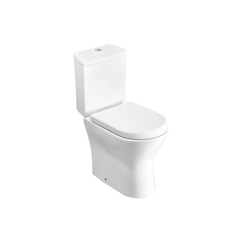 Roca Nexo Close Coupled Toilet Pack with Soft Close Seat