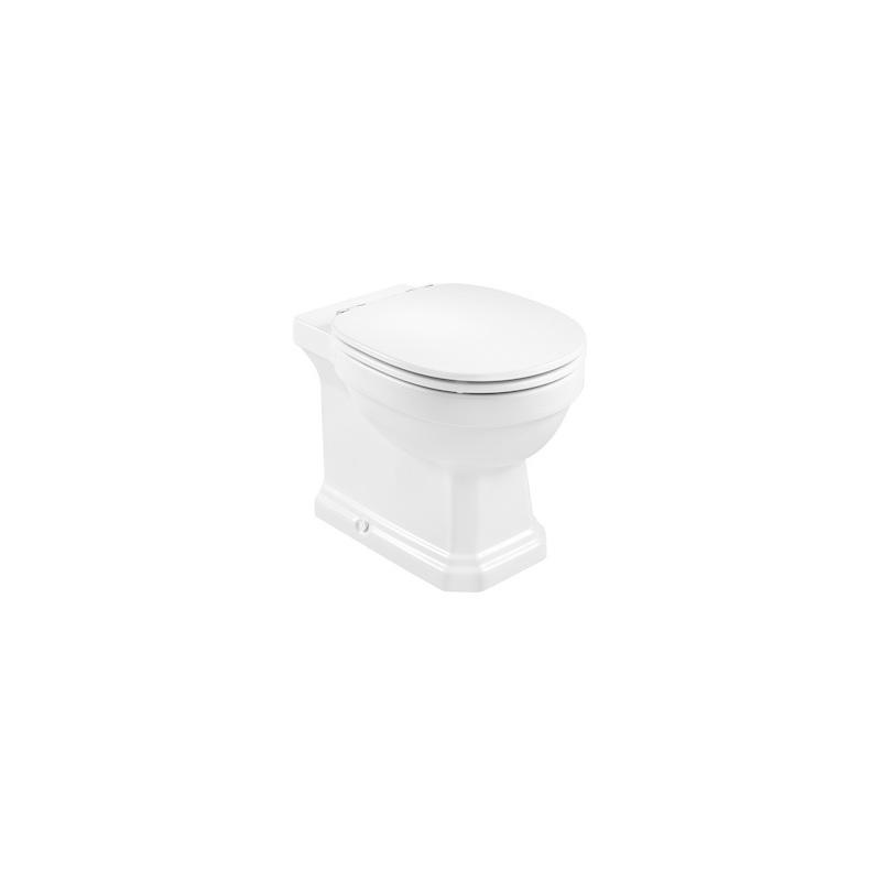 Roca Carmen Rimless Back-To-Wall WC Pan