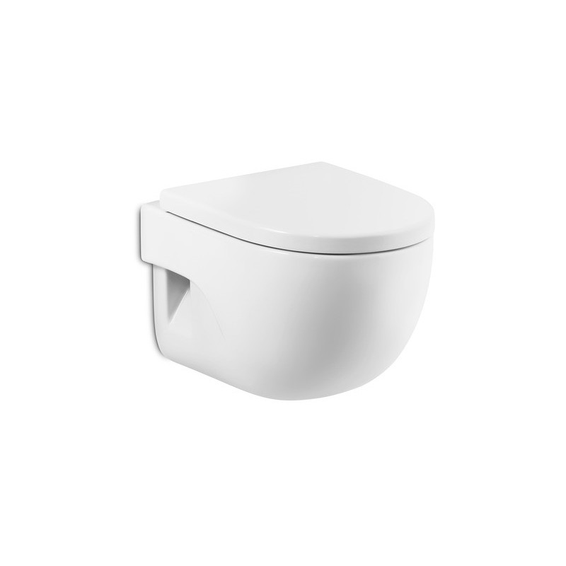 Roca Meridian-N Compact Wall-Hung WC Pan Only
