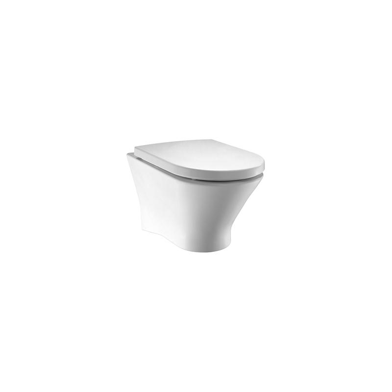 Roca Nexo Rimless Wall Hung WC Pan White