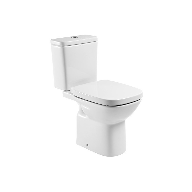 Roca Debba Open Back Eco Toilet & Soft Close Seat