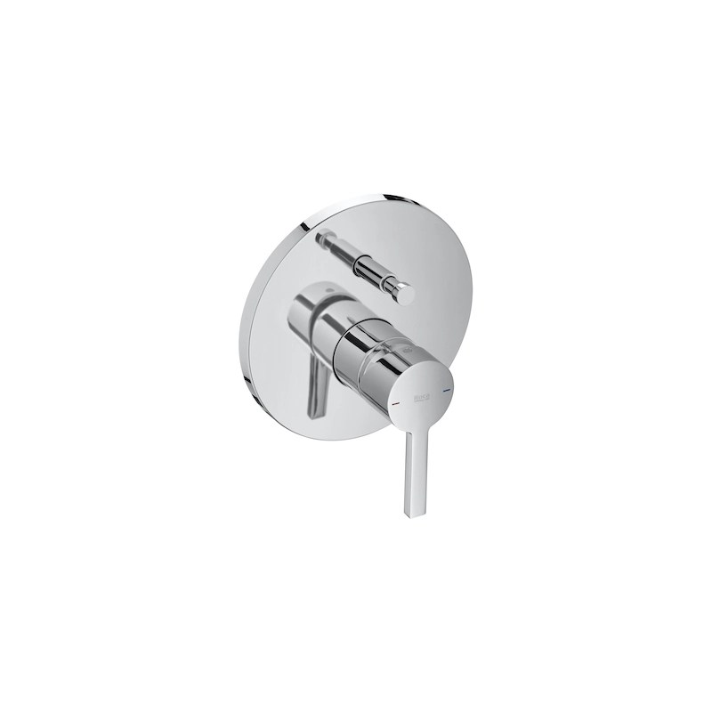 Roca Naia Built-In Bath-Shower Mixer (2 Outlets)
