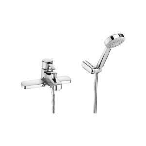 Roca Targa Deck-Mounted Bath Shower Mixer with Handset