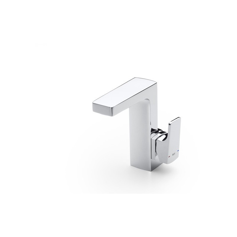Roca L90 Basin Mixer with Side Handle & Pop Up Waste Chrome