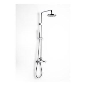 Roca Loft-T Shower with 1/4 Turn Controls, Rose & Handset