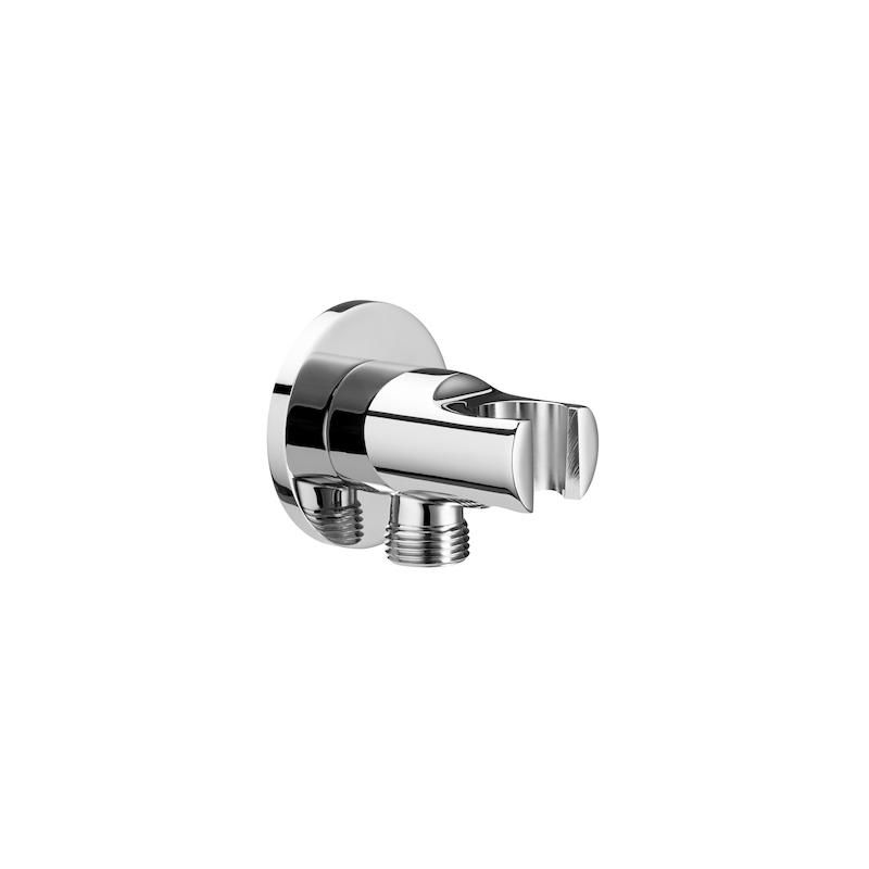 Roca Aqua Combined Outlet & Handset Holder