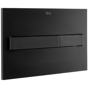 Roca PL7 Dual Flush Operating Plate Matt Black