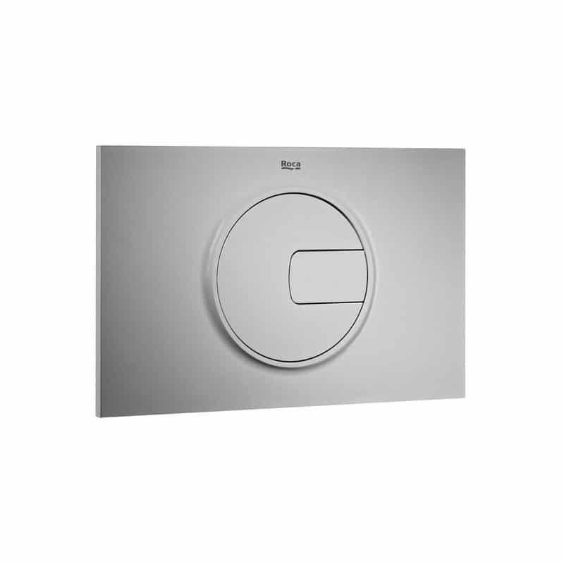 Roca PL4 Dual Flush Operating Plate Grey Laquer