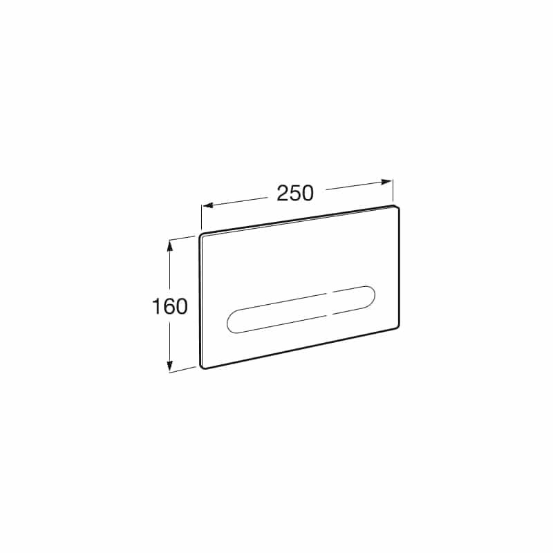 Roca Electronic Push Plate EP1 Compact
