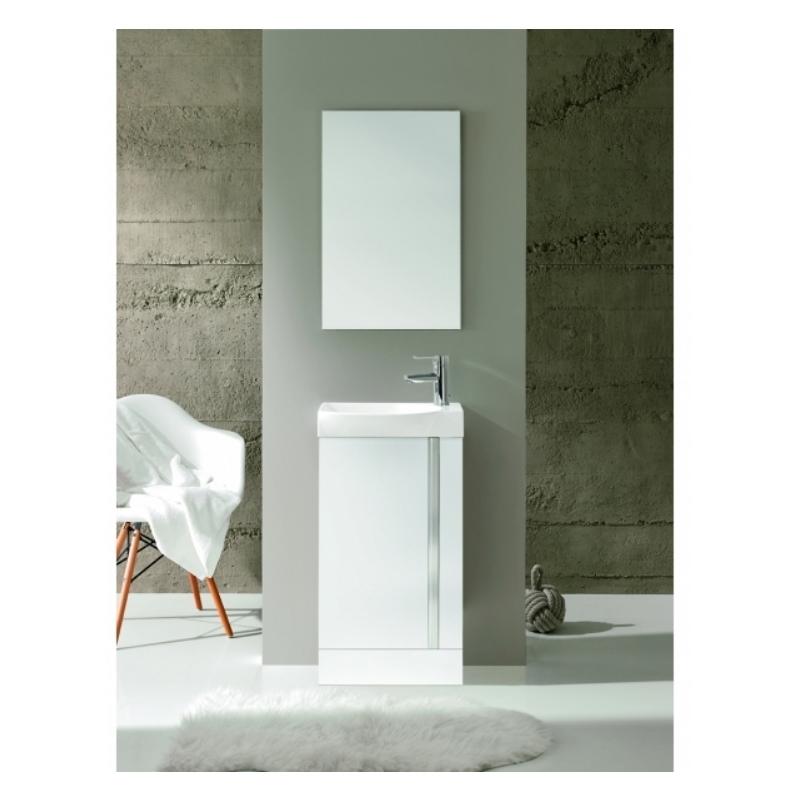 Royo Elegance Floorstanding Cloakroom Unit Pack White