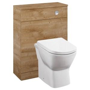 Royo Aquatrend WC Unit 600mm Canela Oak