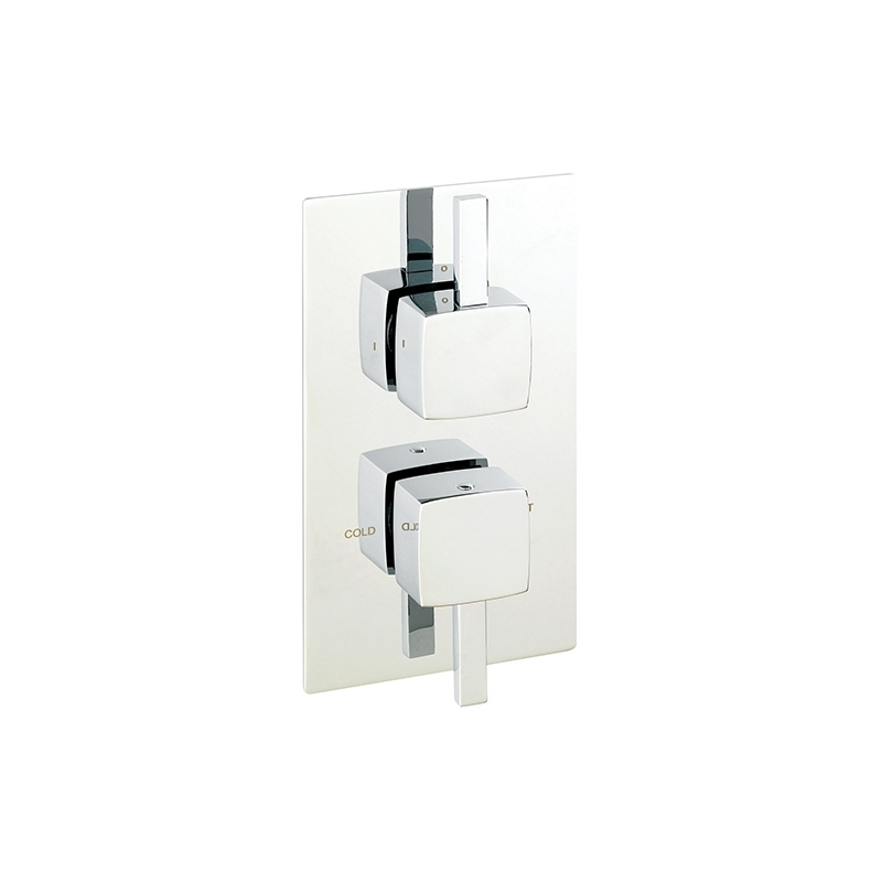 Sagittarius Axis Concealed Thermostatic Shower Valve, ABS Plate