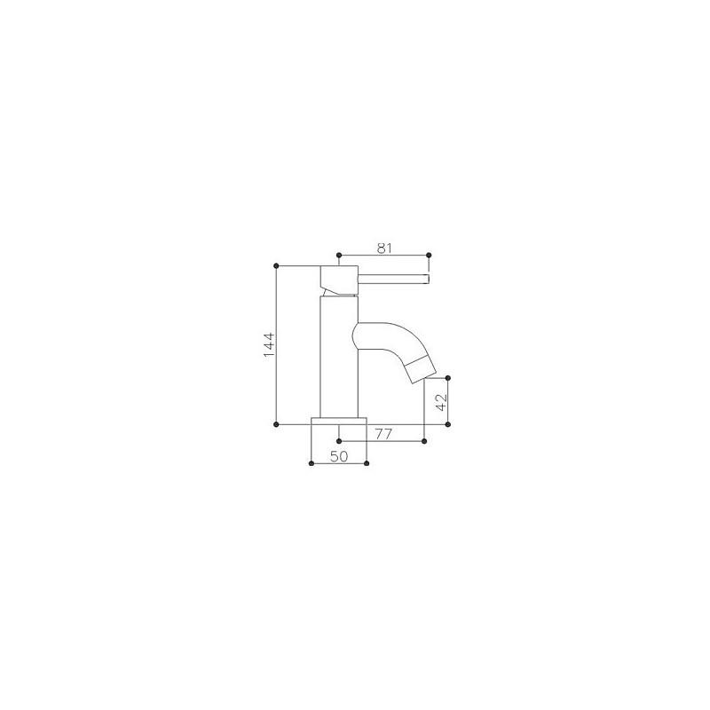 Sagittarius Immortals Balius Cloakroom Basin Mixer