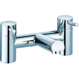 Sterling Beppo Deck Mounted Bath Mixer Chrome