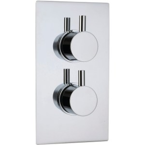 Sterling Starburst 1 Outlet Shower Mixer Round Controls