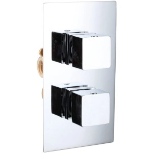 Sterling Starburst 1 Outlet Shower Mixer Cube Controls