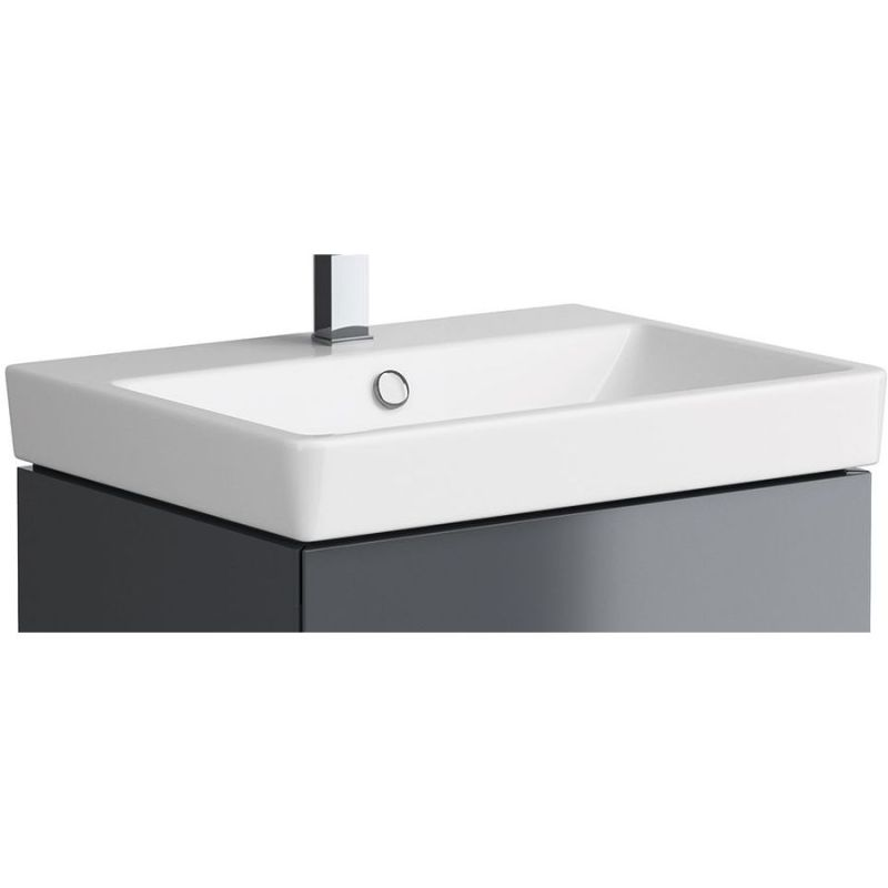 Synergy Berg 600mm 1 Tap Hole Basin & Click Clack Waste