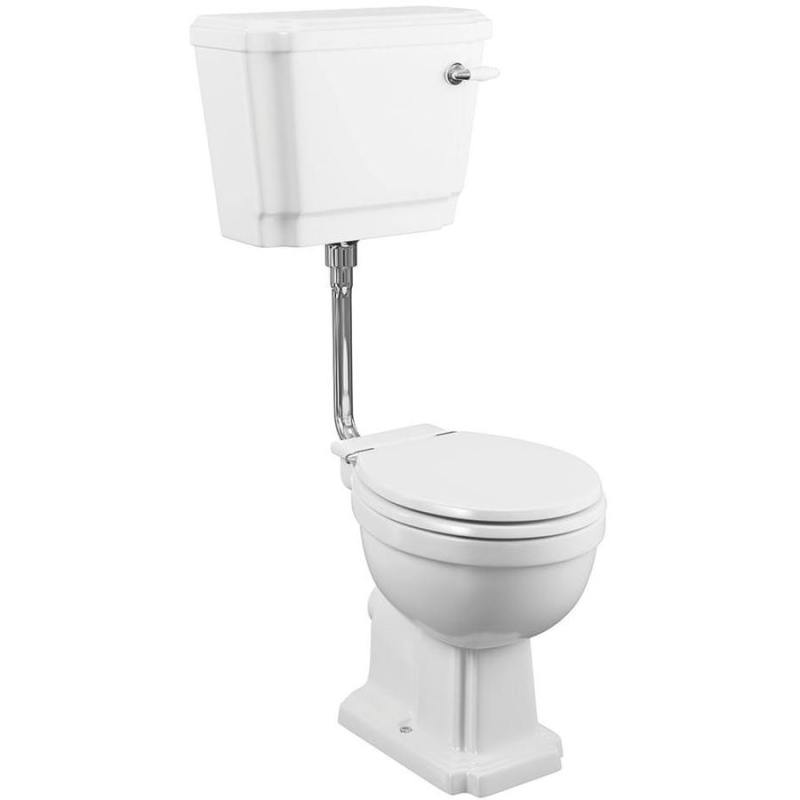 Synergy Henbury High Level/Low Level WC Pan