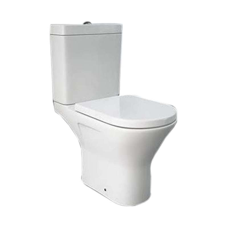 Synergy Marbella Mini Close Coupled Full Access Open Back WC Pan
