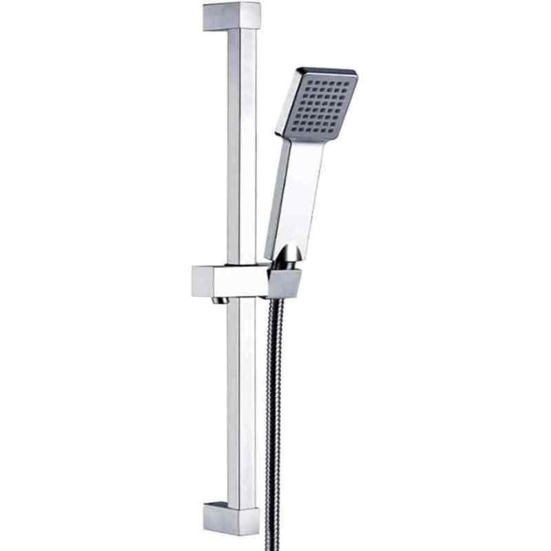 Synergy Square Slide Shower Rail Kit