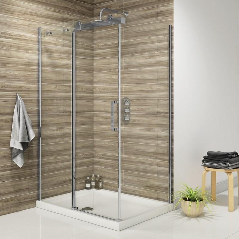 Synergy Vodas 8 Frameless 1700mm Sliding Shower Door