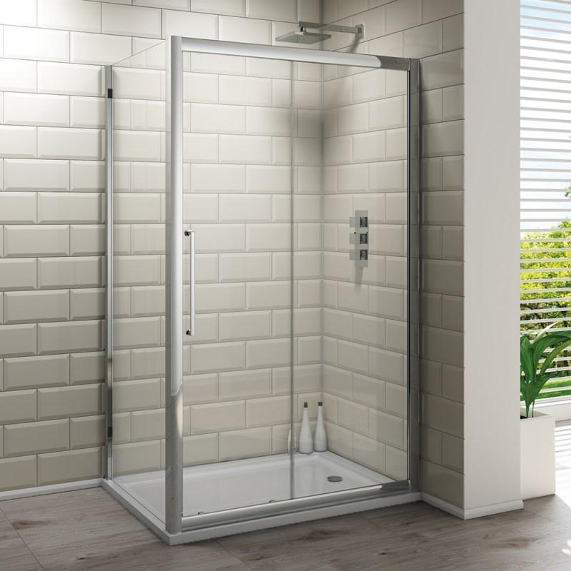 Synergy Vodas 8 Framed 1000mm Sliding Shower Door
