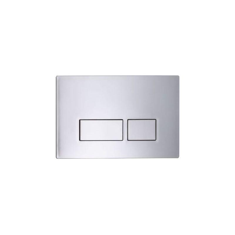 Tavistock Square Flush Plate Chrome