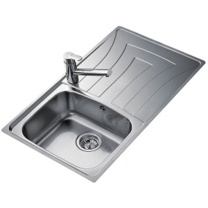 Teka Universo 86 1B & Drainer Inset Sink Stainless Steel