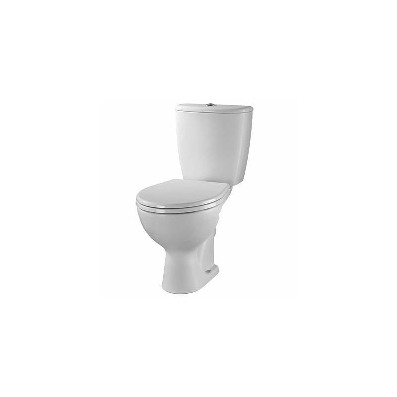 Twyford Alcona Close Coupled Toilet Pan Flushwise