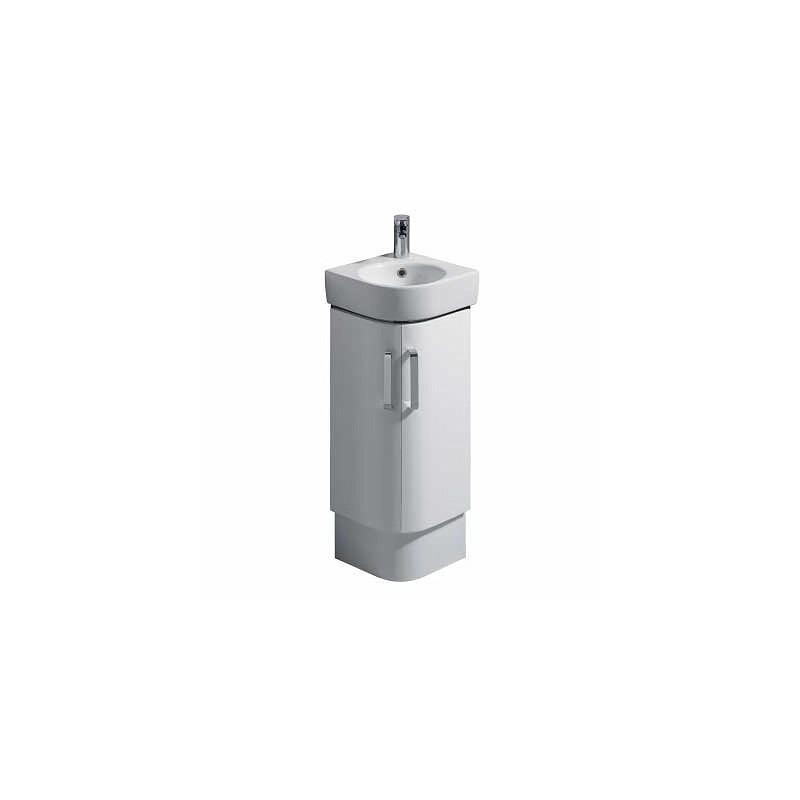 Twyford E200 Plinth for 320 Corner Washbasin Unit White