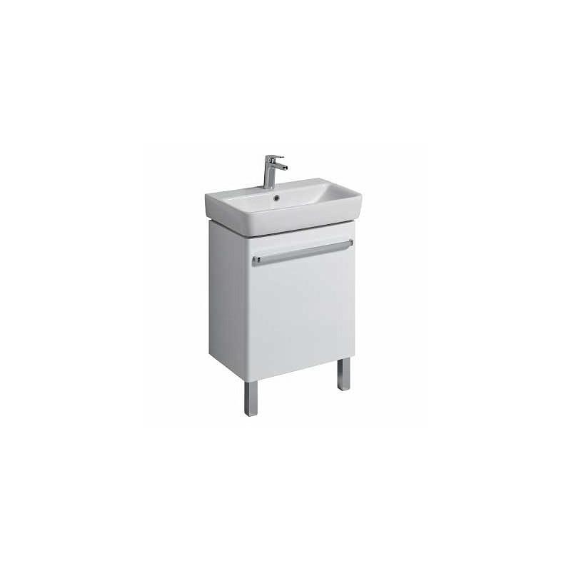 Twyford E200 Vanity Unit for Washbasin 600x370 White