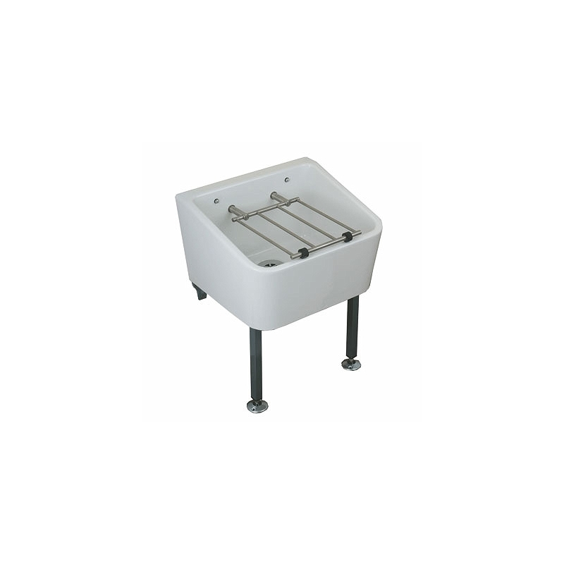 Twyford Cleaner Sink 465x400 with Grating