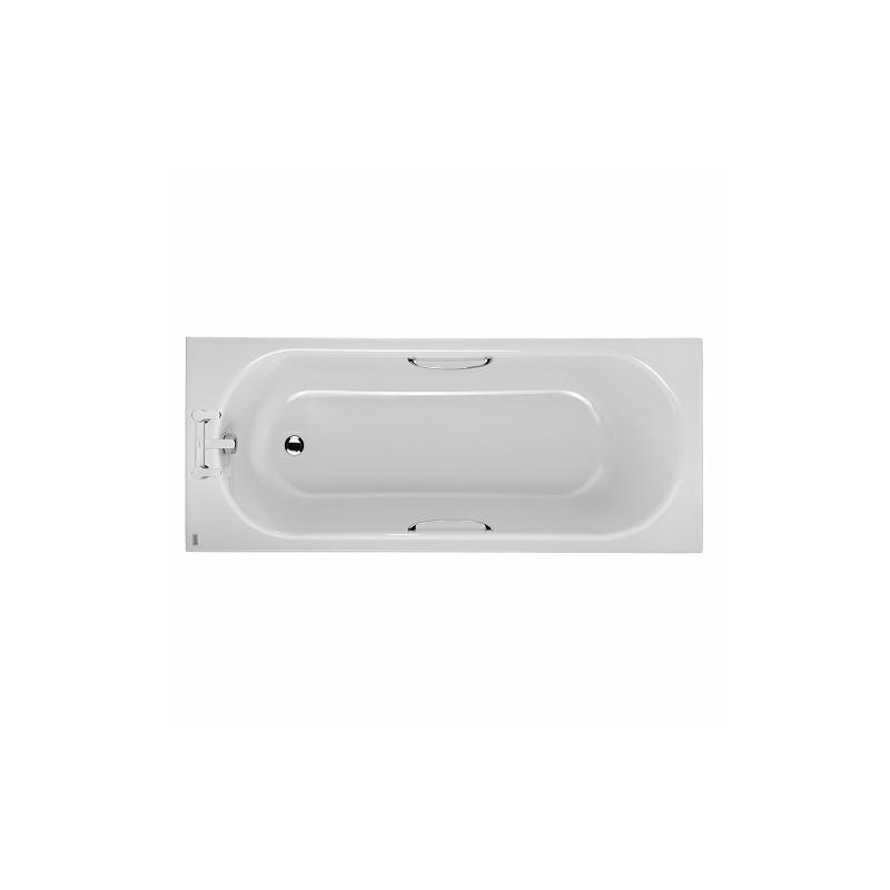 Twyford Opal Bath 1500x700 2 Tap with Grip
