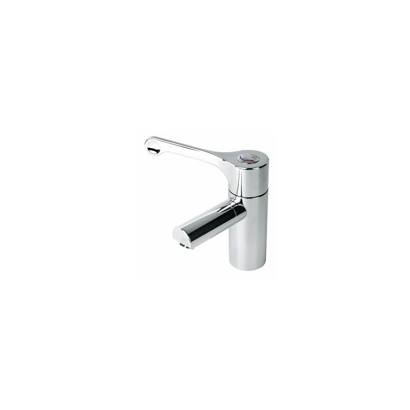 Twyford Sola Thermostatic Basin Mixer with Detachable Spout