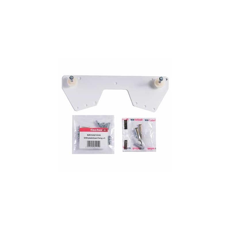 Twyford Total Install Bracket Kit for 225mm Washbasins Centres